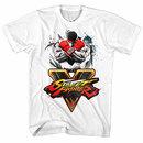 Street Fighter Streetfighta White T-Shirt