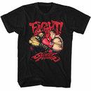 Street Fighter Fight! Black T-Shirt