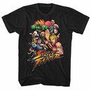 Street Fighter Stftr Black T-Shirt