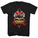 Street Fighter Sfv Key Black T-Shirt
