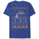Star Wars BB8 Resistance Sweater Blue T-Shirt