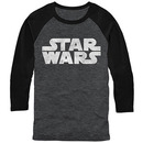 Star Wars Simple Logo Gray Long Sleeve T-Shirt