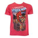 Spiderman Comic Cover Tee Shirt