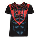 Spiderman Morales Suit Costume Shirt