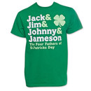 The Four Fathers of St. Patrick's Day Tee Shirt