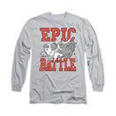 Family Guy Epic Battle Gray Long Sleeve T-Shirt
