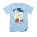 Family Guy Stewie Damn You Blue Tee Shirt