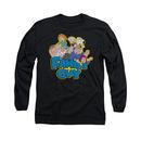 Family Guy Family Fight Black Long Sleeve T-Shirt