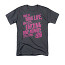 Fight Club Life Ending Gray Tee Shirt