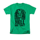 Predator Men's Green What The Hell Are You Tee Shirt