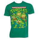 Teenage Mutant Ninja Turtles TMNT Retro Vintage Group Logo T-Shirt