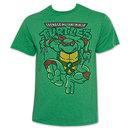 Teenage Mutant Ninja Turtles Green Raphael Attack TShirt