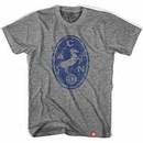 Napoli Horse Crest Soccer Gray T-Shirt