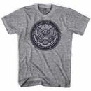USA Eagle Soccer Ball Gray T-Shirt