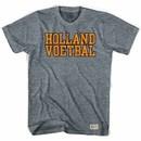 Holland Voetbal Soccer Nation Gray T-Shirt