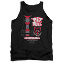 Back To The Future Pit Bill Hoverboards Black Tank Top