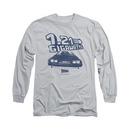 Back To The Future 1.21 Gigawatts Gray Long Sleeve T-Shirt