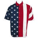 American Flag USA Button Up Dress Shirt
