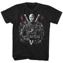 Vikings Lives or Dies By His Honor Tshirt