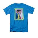 Friends 80s Flashback Blue Tee Shirt