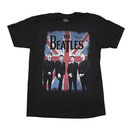 Beatles Distressed Union Jack Photo T-Shirt