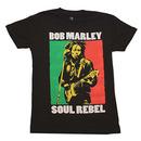 Bob Marley Soul Rebel Color Block T-Shirt