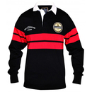 Guinness Black and Red Rugby Shirt