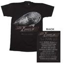 Led Zeppelin Cities 1977 Tour T-Shirt