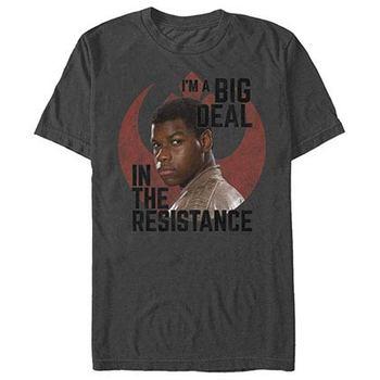Star Wars Episode 7 Big Deal Gray T-Shirt