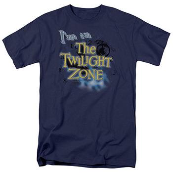 Twilight Zone I'm In The Twilight Zone Blue T-Shirt