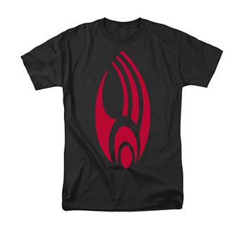Star Trek Men's Black Borg Logo Tee Shirt
