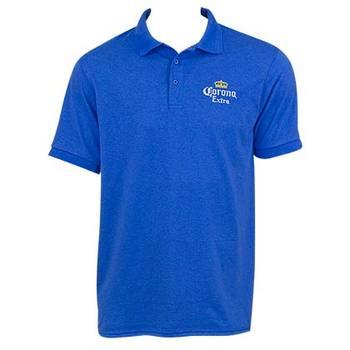 Men's Corona Blue Polo Shirt