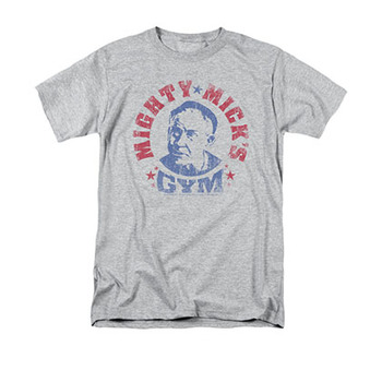 Rocky Mighty Mick's Gym Gray T-Shirt