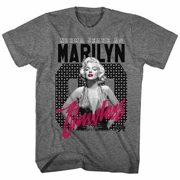 Marilyn Monroe Flawless Mens Graphite T-Shirt