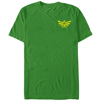 Nintendo Legend of Zelda Hyrule Grade Green T-Shirt