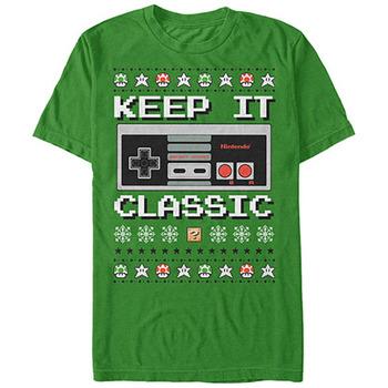 Nintendo Ugly Controller Green T-Shirt