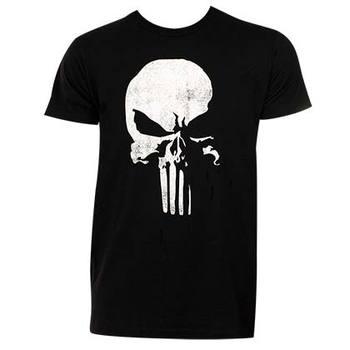 Punisher 3D Logo Tee Shirt