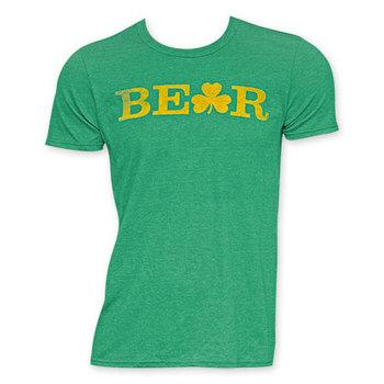 St. Patrick's Day Men's Green Beer Tee Shirt