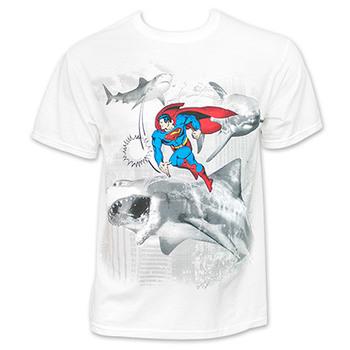 Superman vs. Sharks Shirt
