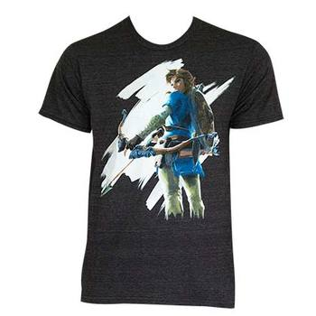 The Legend Of Zelda Breathe Of The Wild Tee Shirt