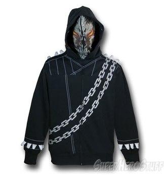 Ghost Rider Masked Costume Hoodie