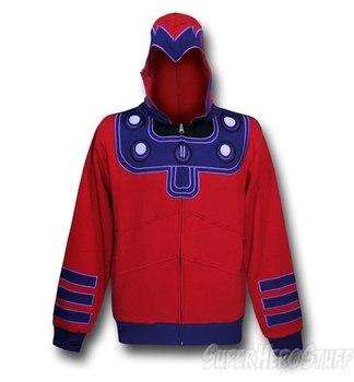 Magneto Masked Costume Hoodie