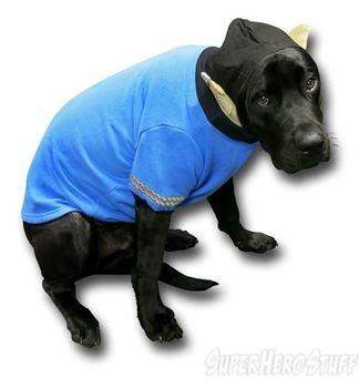 Star Trek Spock Dog Hoodie