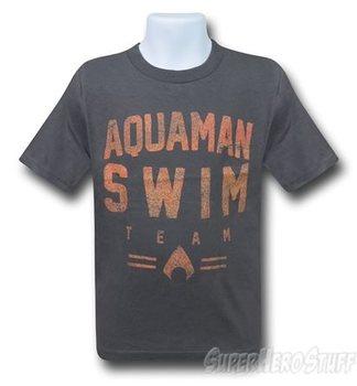 Aquaman Swim Team Kids T-Shirt