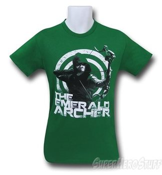 Arrow The Emerald Archer Men's T-Shirt