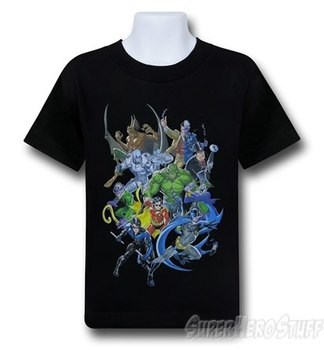 Batman Villain Mob Kids T-Shirt