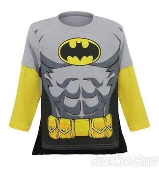 Batman Caped Kids Factory Second Long Sleeve T-Shirt