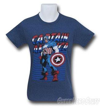 Captain America Cap's Colors Men's T-Shirt