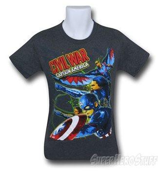 Captain America Civil War Run Kids T-Shirt