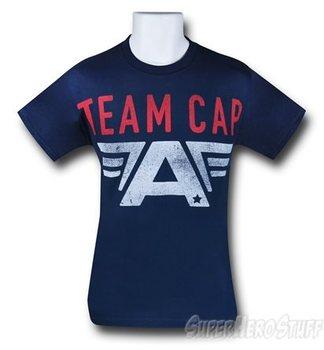 Captain America Civil War Team Cap T-Shirt